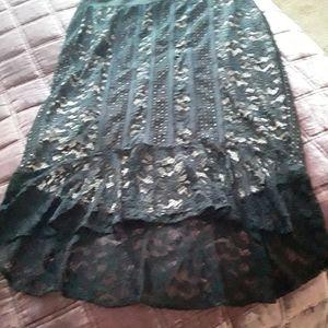 Thalia Sodi Lace Skirt XL